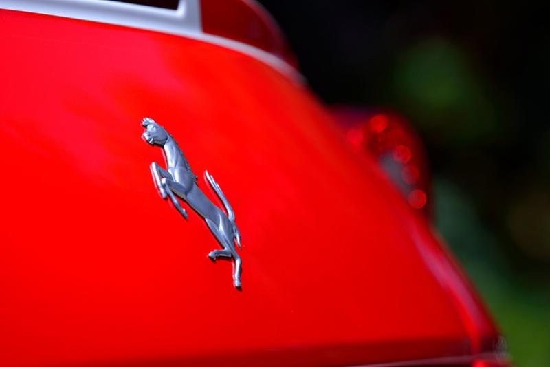 Ferrari Logo Araçlar Kanvas Tablo