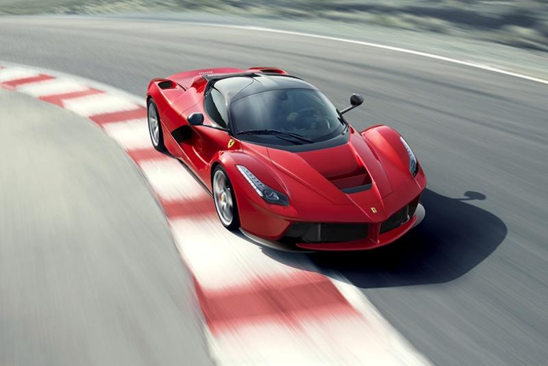 Ferrari Pistte Yarış Kanvas Tablo