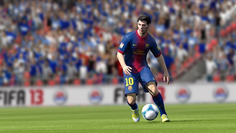 Fifa 2013 Messi Play Station Oyun Kanvas Tablo