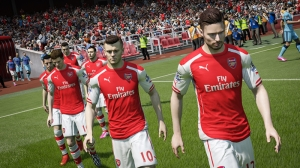 Fifa 2015 Arsenal Popüler Kültür Kanvas Tablo