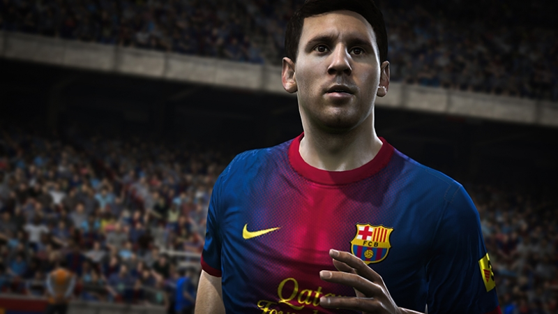 Fifa 2015 Lionel Messi Barcelona Kanvas Tablo