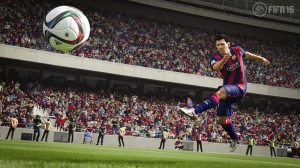 Fifa16 Lionel Messi Spor Kanvas Tablo
