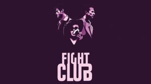 Fight Clup Edwar Norton Brad Pitt-2 Popüler Kültür Kanvas Tablo