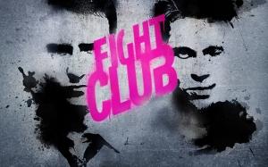 Fight Clup Popüler Kültür Kanvas Tablo