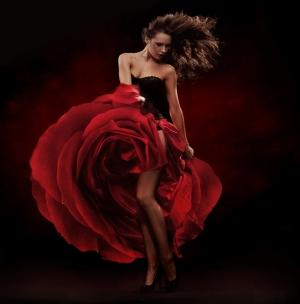 Flamenco Danscısı 1 Fotoğraf Kanvas Tablo