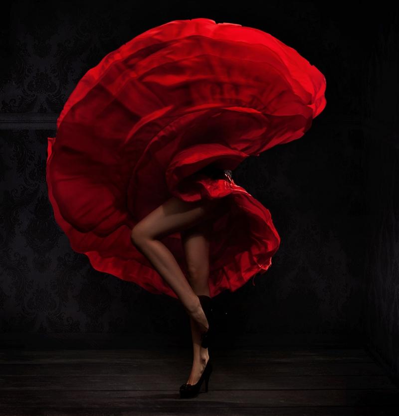 Flamenco Danscısı 2 Fotoğraf Kanvas Tablo