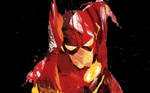 Flash Çizgi Roman Karakter Popüler Kültür Kanvas Tablo