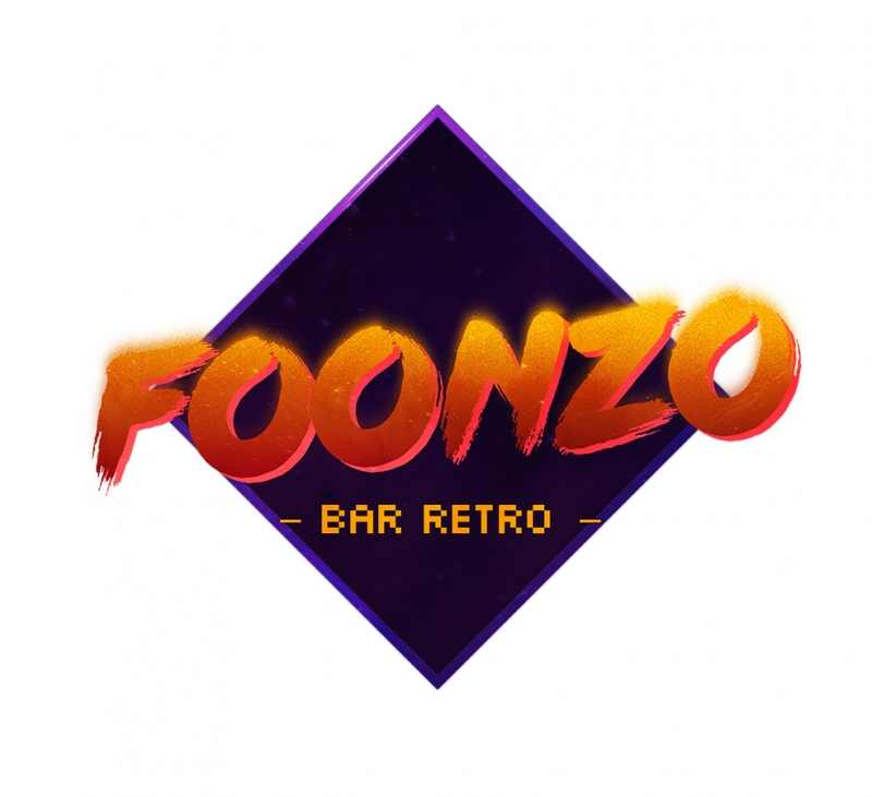 Foonzo Retro & Motto Kanvas Tablo