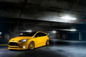 Ford Focus ST Araçlar Kanvas Tablo