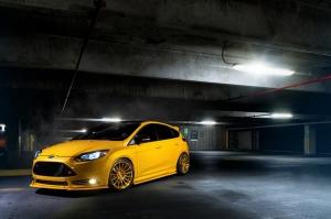 Ford Focus ST Araçlar Kanvas Tablo
