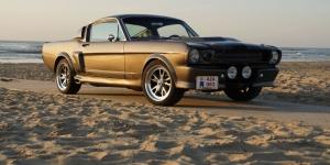 Ford Mustang 1967 Model 12 Klasik Otomobil Araçlar Kanvas Tablo