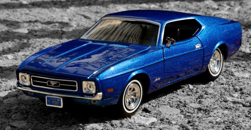 Ford Mustang 1967 Model 3 Klasik Otomobil Araçlar Kanvas Tablo