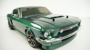 Ford Mustang 1967 Model 6 Klasik Otomobil Araçlar Kanvas Tablo