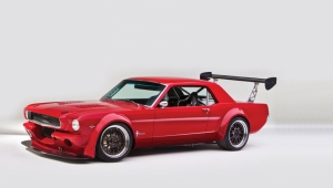 Ford Mustang 1967 Model 7 Klasik Otomobil Araçlar Kanvas Tablo