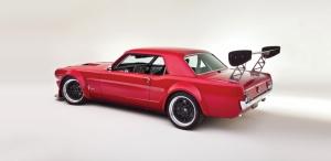 Ford Mustang 1967 Model 8 Klasik Otomobil Araçlar Kanvas Tablo