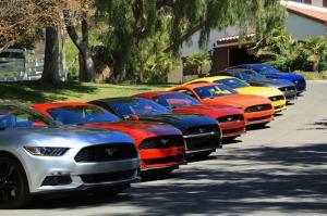 Ford Mustang 2 Otomobil Araçlar Kanvas Tablo