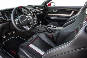 Ford Mustang Kokpit Otomobil Araçlar Kanvas Tablo