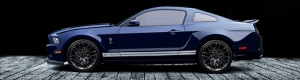 Ford Mustang Shelby GT500 Otomobil Araçlar Kanvas Tablo