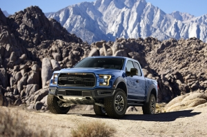 Ford Raptor Kamyonet Kanvas Tablo