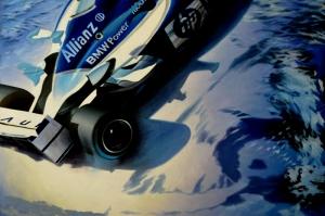 Formula-1 Araçları-3 Yarış Arabaları Kanvas Tablo