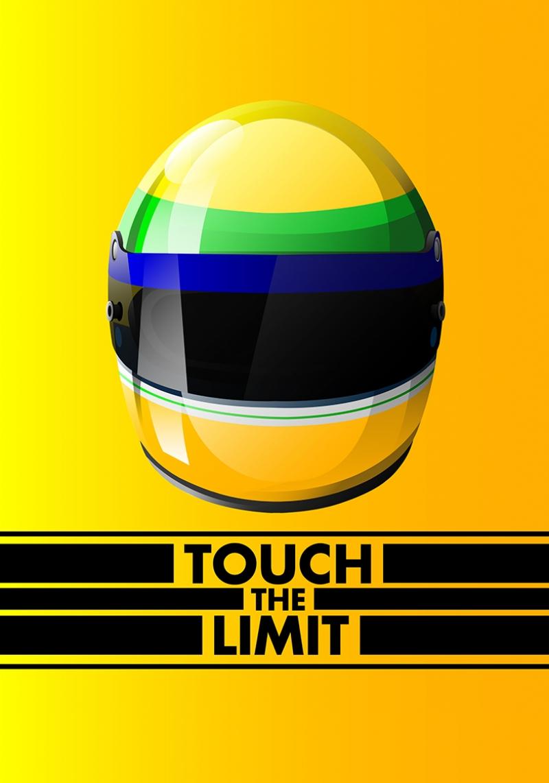 Formüla 1 Efsanesi Senna Kask Otomobil Araçlar Kanvas Tablo