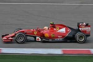 Formula 1 Ferrari Araçlar Kanvas Tablo
