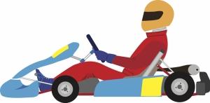 Formula 1 İllustrasyon Bebek & Çocuk Dünyası Kanvas Tablo