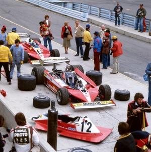 Formula Retro Yarış Otomobil-2 Kanvas Tablo