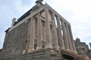 Forum Romanum Roma Tarihi Kalıntıları İtalya-24, Dünyaca Ünlü Şehirler Kanvas Tablo