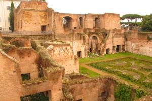 Forum Romanum Roma Tarihi Kalıntıları İtalya-48, Dünyaca Ünlü Şehirler Kanvas Tablo