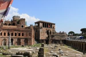 Forum Romanum Roma Tarihi Kalıntıları İtalya-56, Dünyaca Ünlü Şehirler Kanvas Tablo