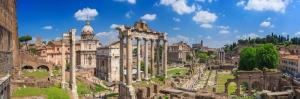 Forum Romanum Roma Tarihi Kalıntıları İtalya-60 Dünyaca Ünlü Şehirler Kanvas Tablo