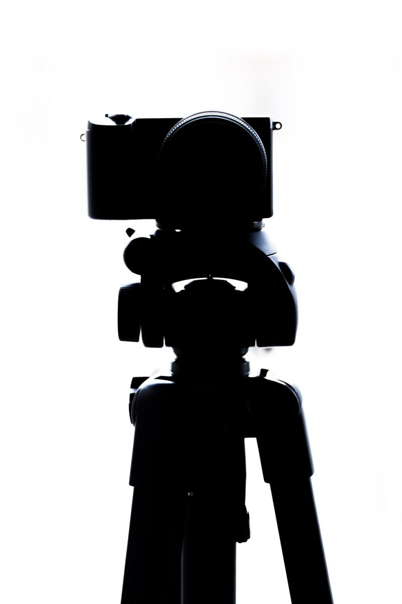 Fotoğraf Makinası Tripot Fotoğraf Kanvas Tablo