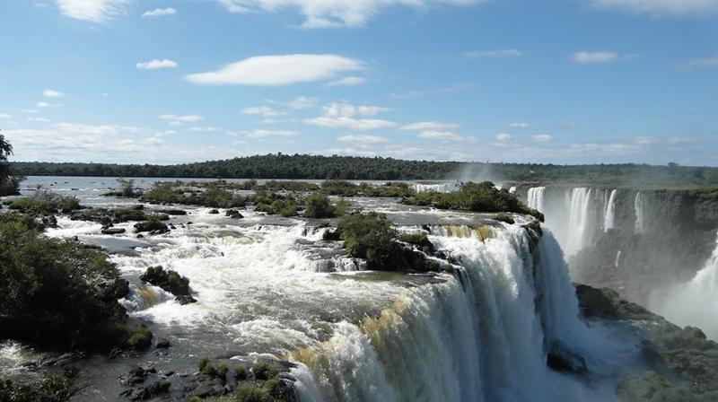 Foz Do Iguacu Unesco Dünya Kültür Mirasları Kanvas Tablo