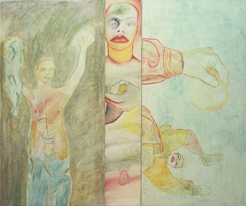 Francesco Clemente Değişim Soyut Yağlı Boya Klasik Sanat Kanvas Tablo