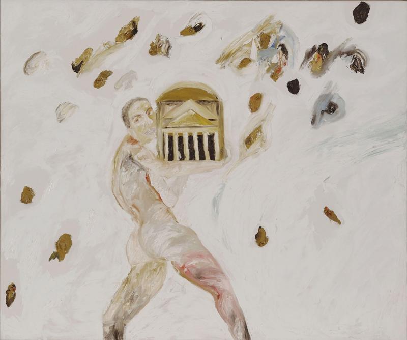 Francesco Clemente Soyut Yağlı Boya Klasik Sanat Kanvas Tablo