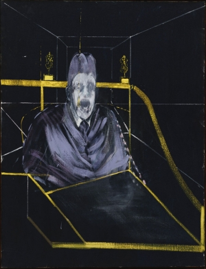Francis Bacon 7.Bir Portre İçiçe Sekiz Defa Çalisma Soyut Klasik Sanat Canvas Tablo