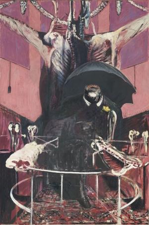 Francis Bacon Boyama Soyut Yağlı Boya Klasik Sanat Canvas Tablo