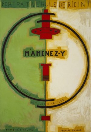 Francis Picabia 1 Soyut Yağlı Boya Klasik Sanat Canvas Tablo