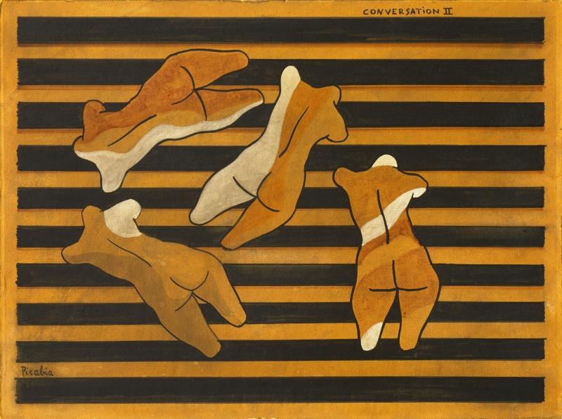 Francis Picabia Muhabbet Soyut Yağlı Boya Klasik Sanat Canvas Tablo