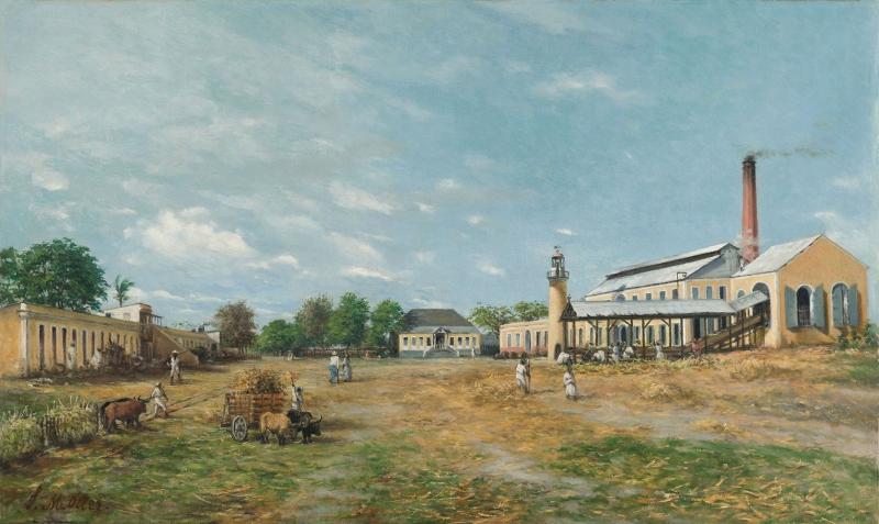Francisco Oller 1833 Şansı Yaratmak Yağlı Boya Klasik Snat Canvas Tablo