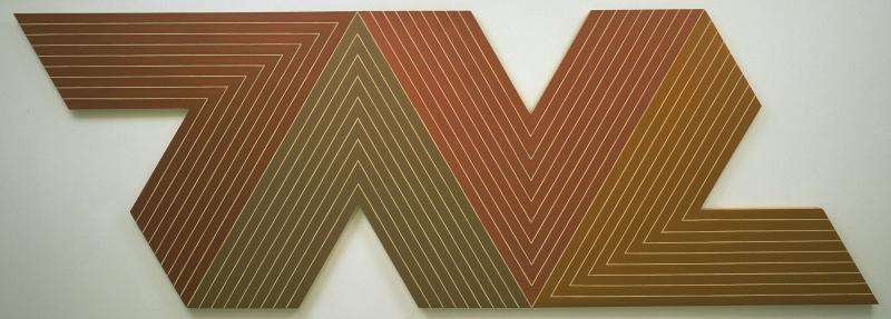 Frank Stella Hindistan Soyut Yağlı Boya Klasik Sanat Canvas Tablo