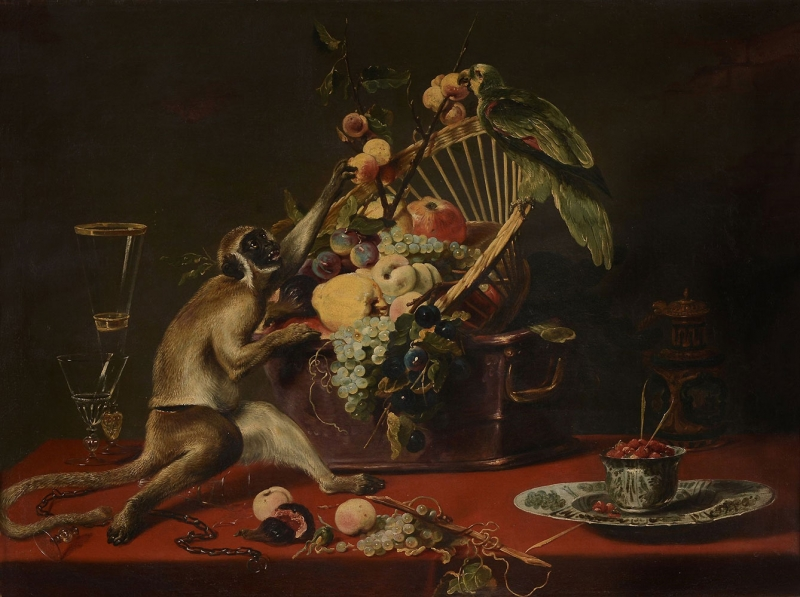 Frans Snyders Vazo İcinde Çiçekler Klasik Sanat Kanvas Tablo