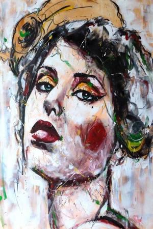Fransız Kadınlar-1 Klasik Sanat Kanvas Tablo