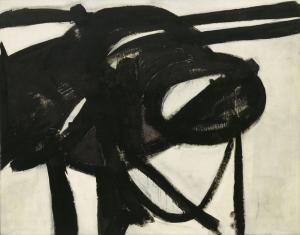 Franz Kline Şef Soyut Yağlı Boya Klasik Sanat Canvas Tablo