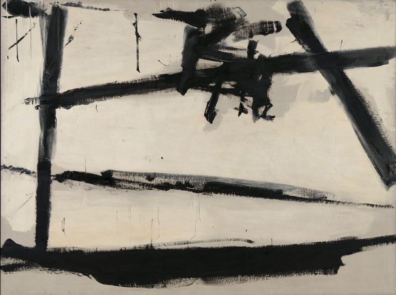 Franz Kline soyut Yağlı Boya Klasik Sanat Canvas Tablo