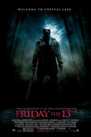 Friday 13th Film Afişi Sinema Kanvas Tablo