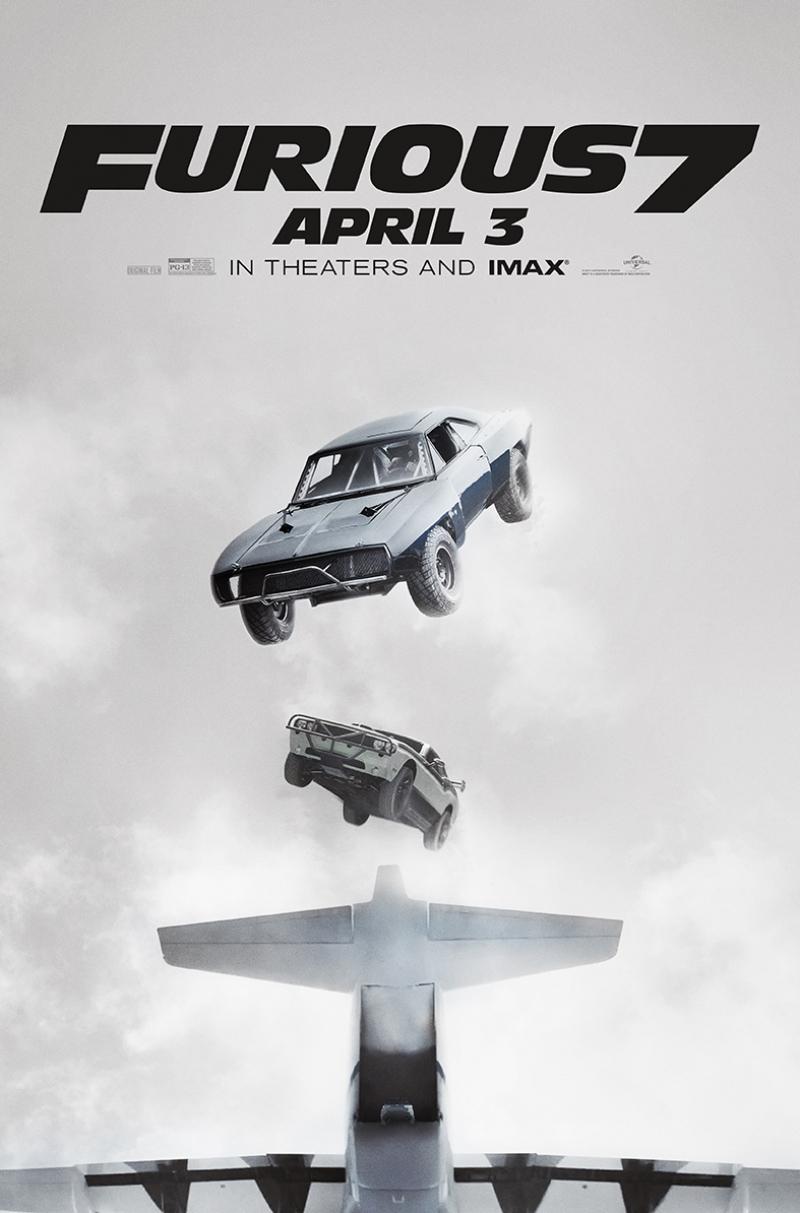 Furious 7 Hızlı ve Öfkeli Tablo