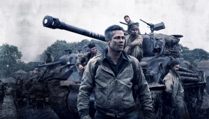 Fury Brad Pitt Afiş Sinema Kanvas Tablo