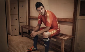 Futbol David Villa Spor Kanvas Tablo